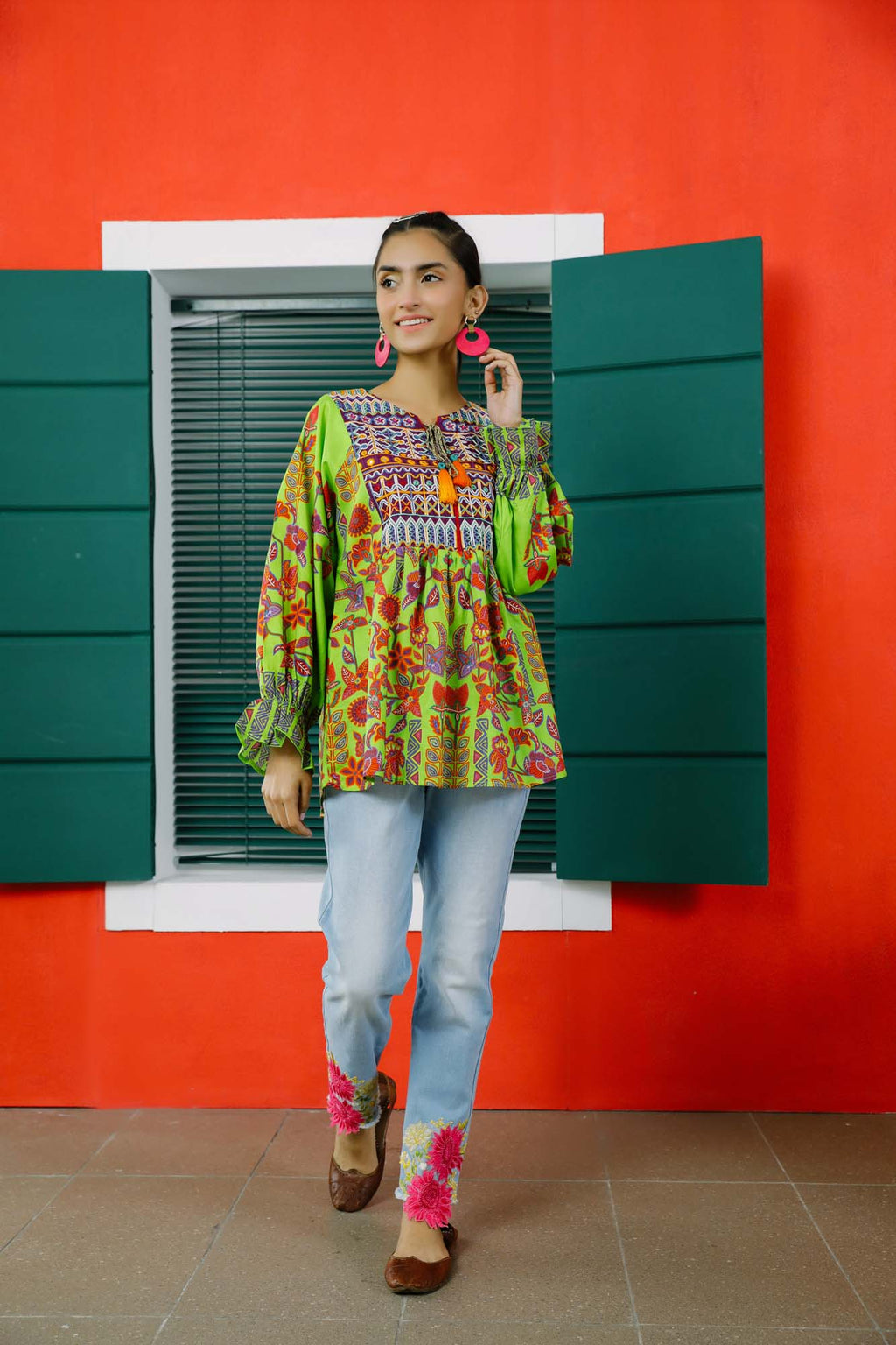 Fusion Top (WTC101008) - Ethnic by Outfitters