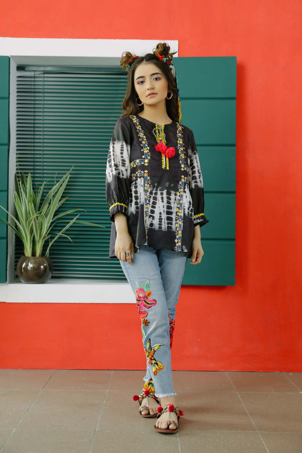 Fusion Top (WTC101009) - Ethnic by Outfitters