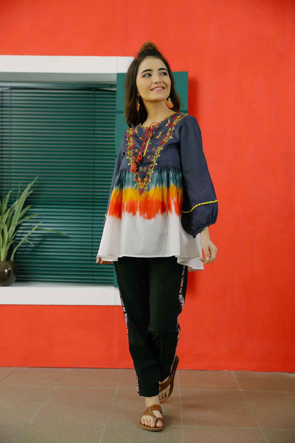 Fusion Top (WTC101010) - Ethnic by Outfitters