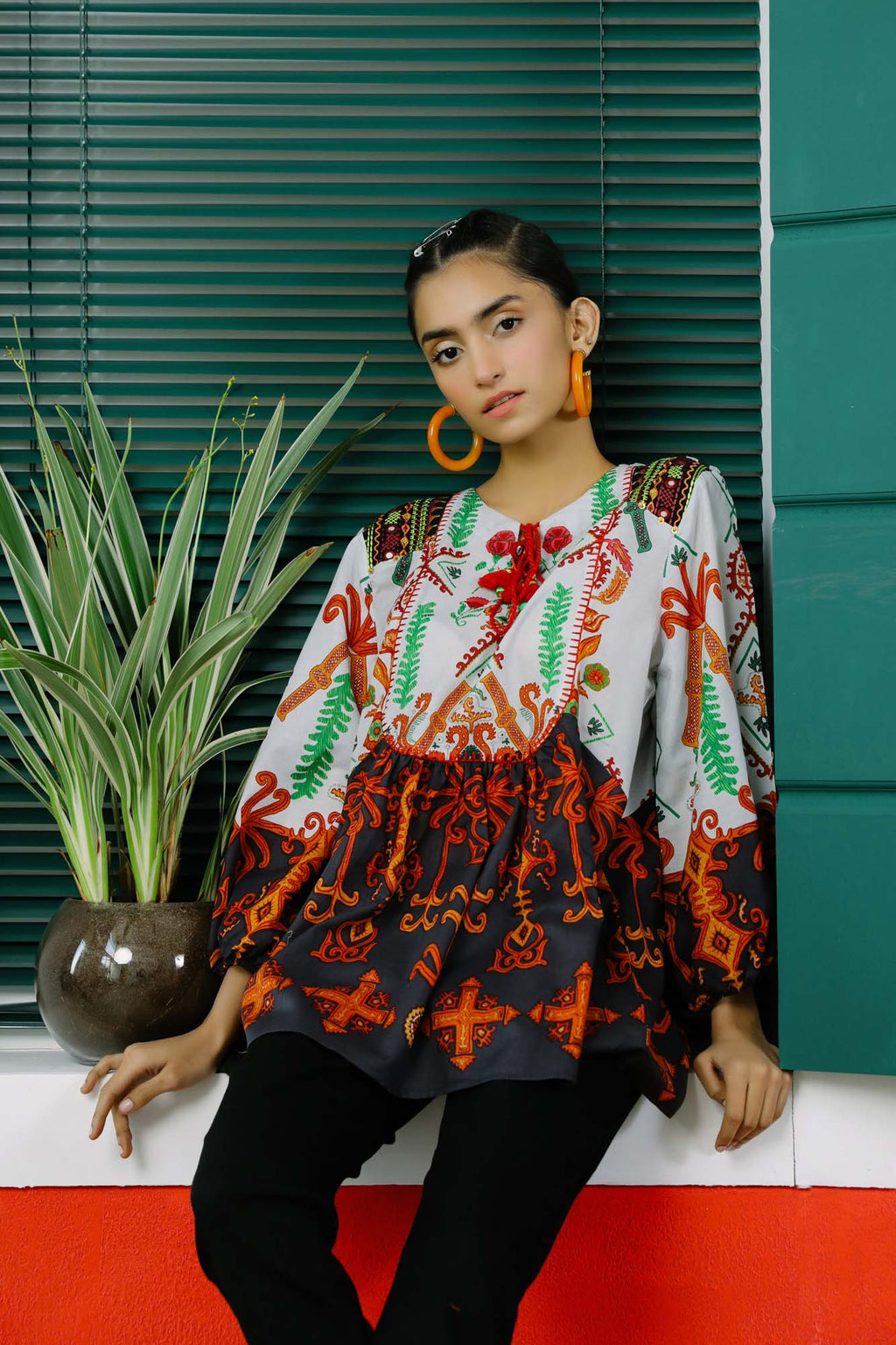 Fusion Top (WTC101022) - Ethnic by Outfitters