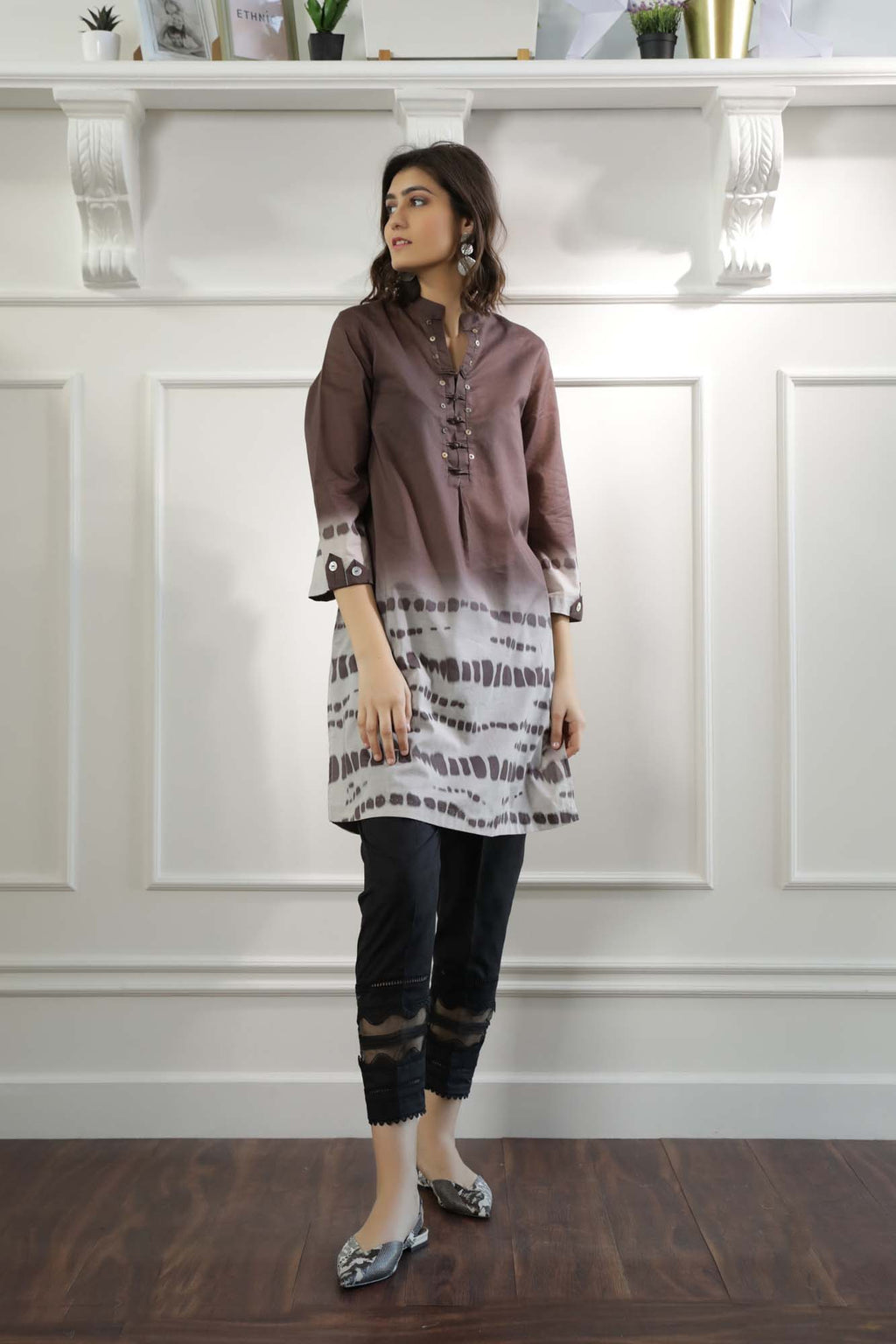 Casual Shirt (WTC101118) - Ethnic by Outfitters