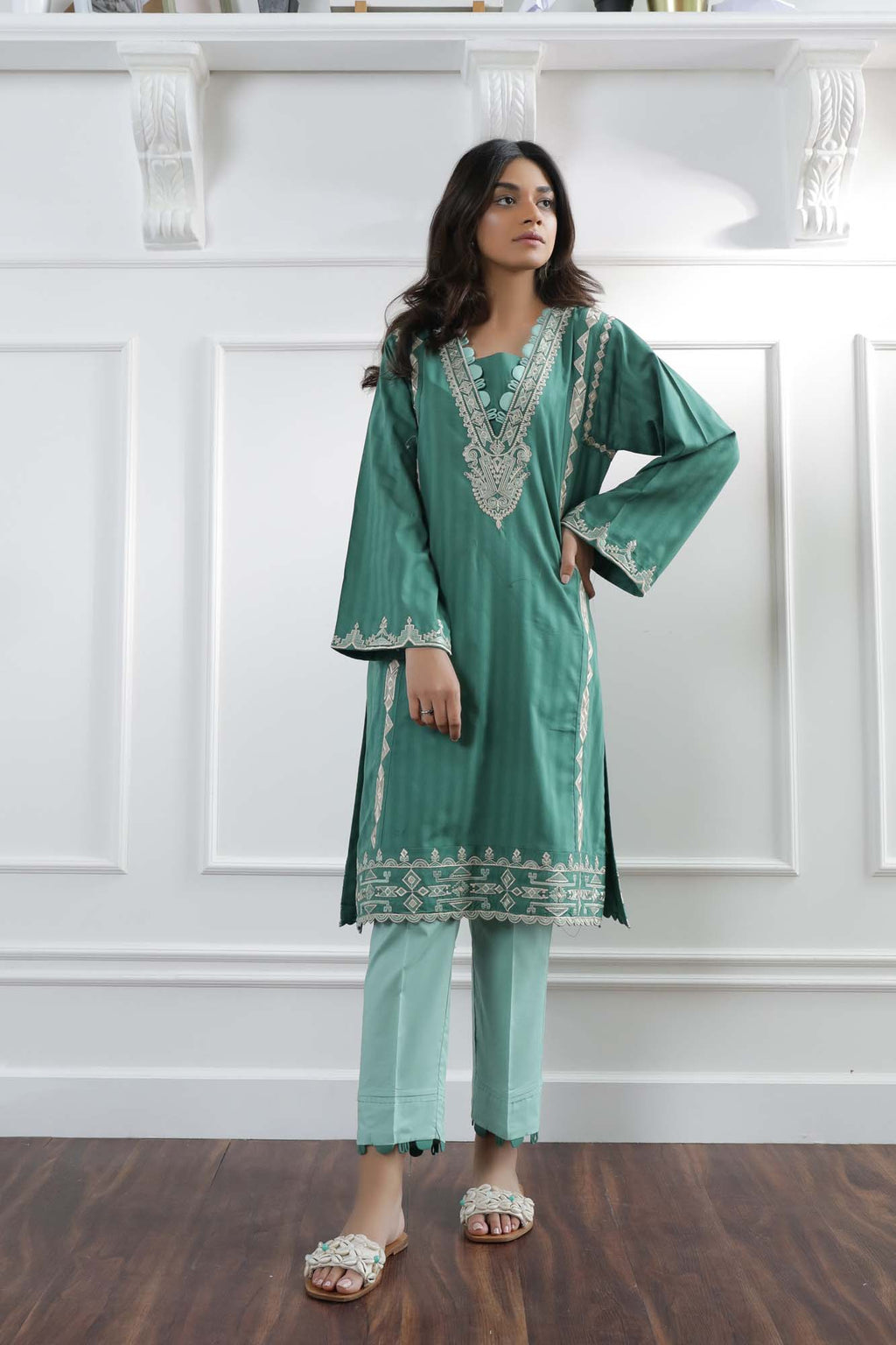Casual Suit (WTC101343) - Ethnic by Outfitters