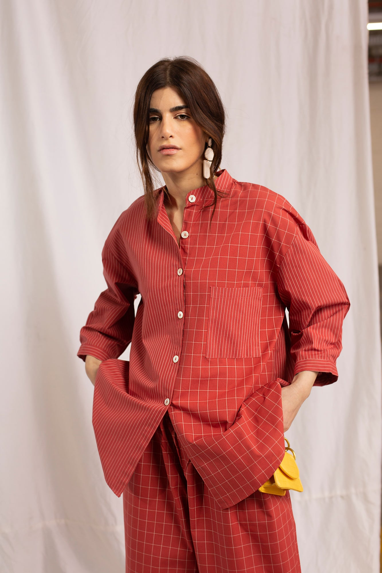 CHECKERED SUIT (WTD111774) - Ethnic by Outfitters
