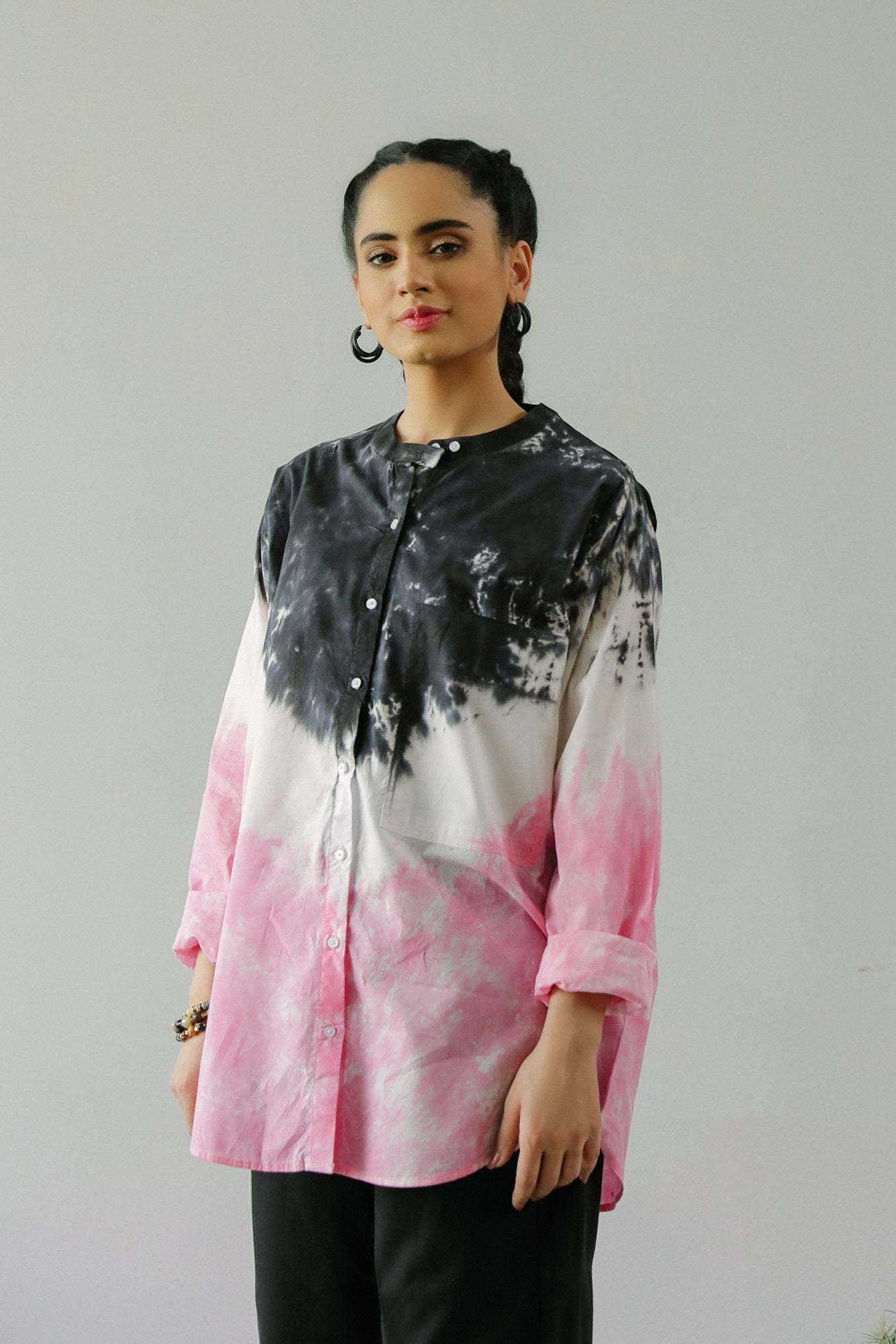 PRINTED TOP (WTF211206) - Ethnic by Outfitters