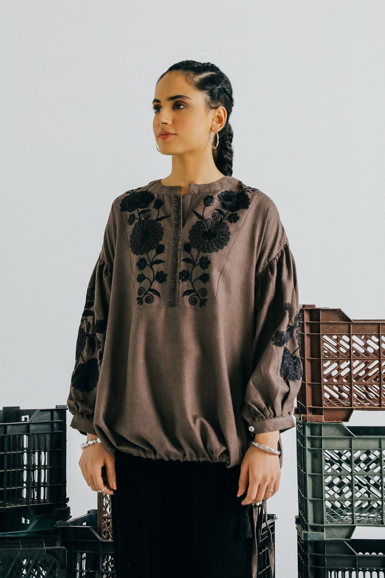 FUSION TOP (WTF401516) - Ethnic by Outfitters
