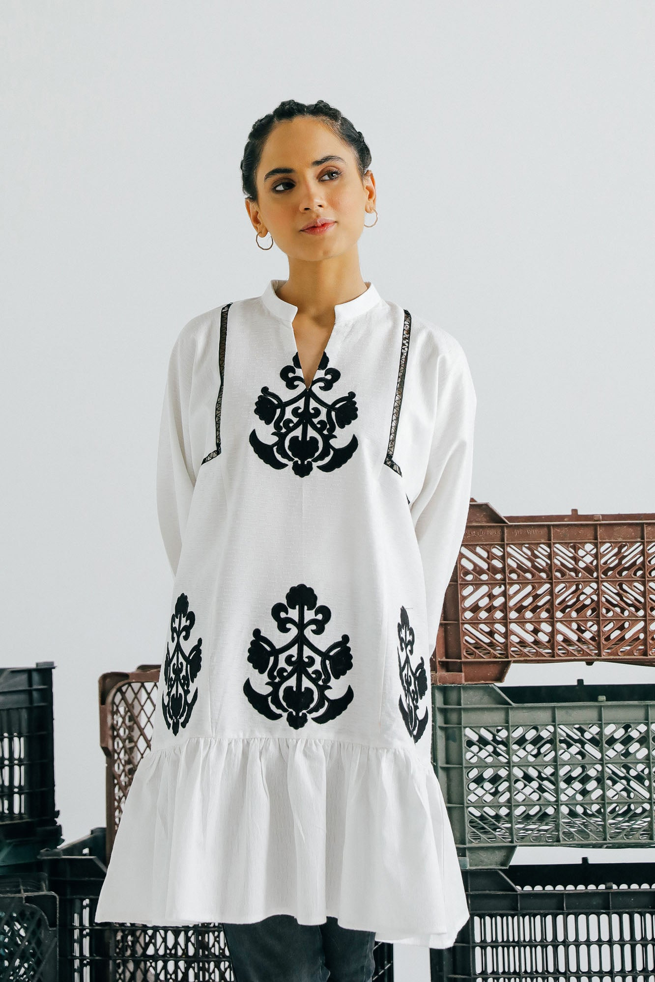 FUSION KURTI (WTF401535) - Ethnic by Outfitters