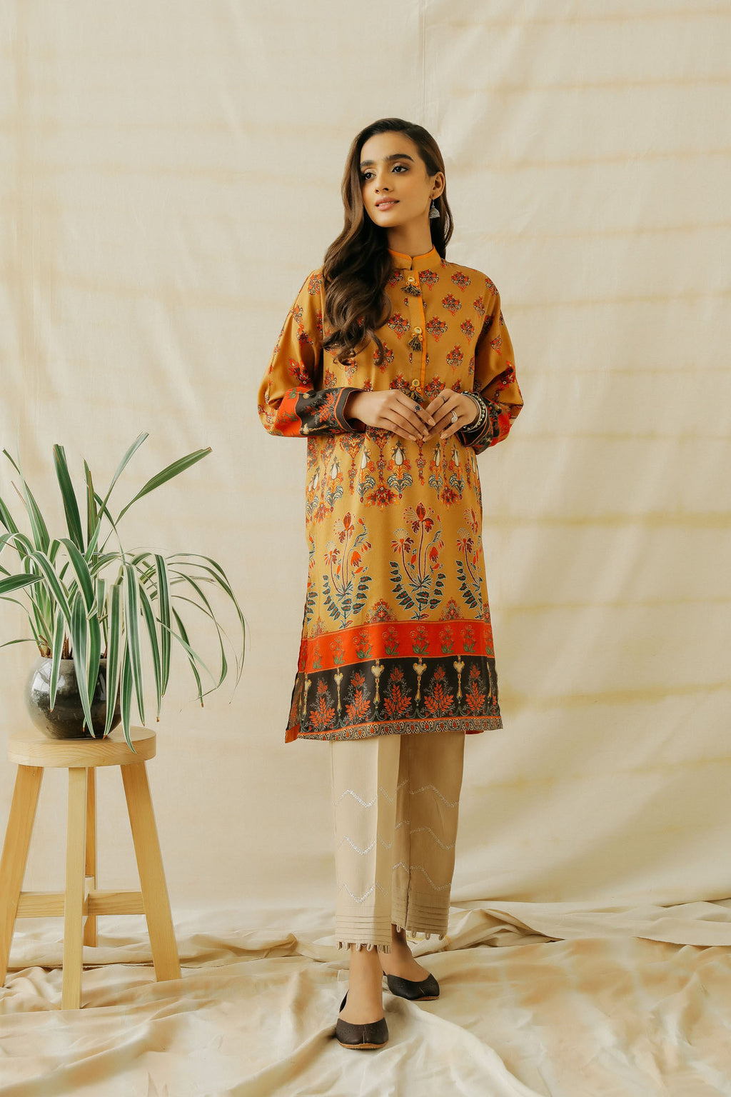 PRINTED SHIRT (WTP401609) - Ethnic by Outfitters