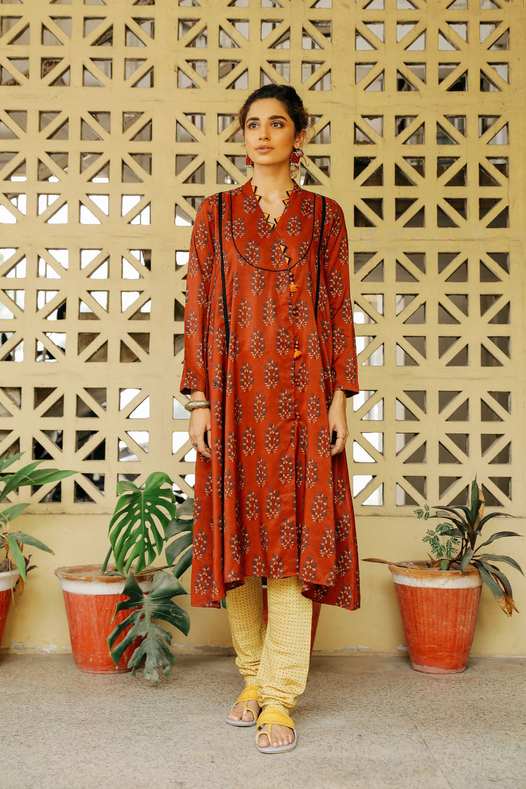 CAPSULE SUIT (WTP401642) - Ethnic by Outfitters