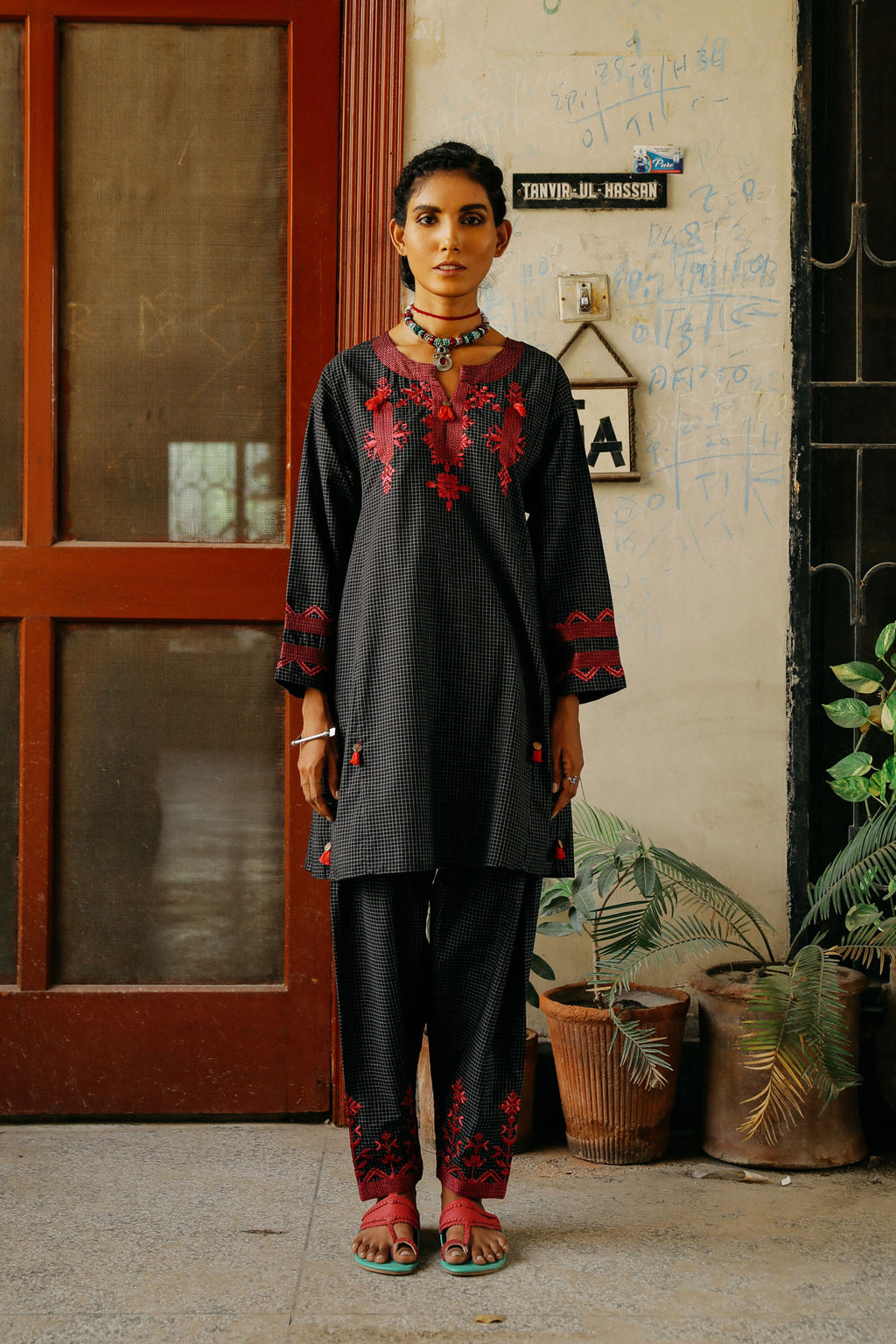 CAPSULE SUIT (WTP401647) - Ethnic by Outfitters