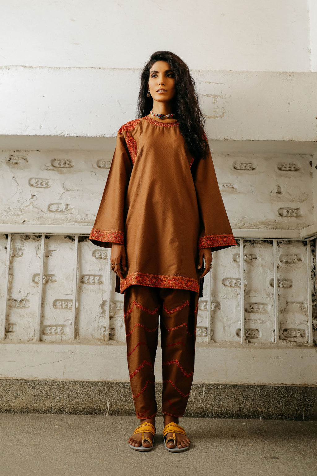 CAPSULE SUIT (WTP401661) - Ethnic by Outfitters