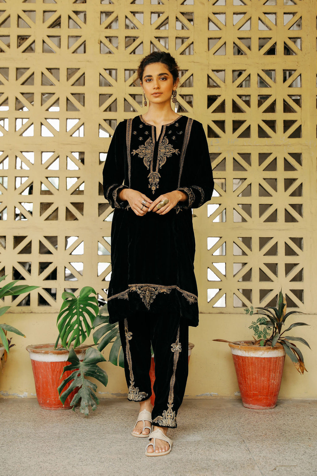 CAPSULE SUIT (WTP401666) - Ethnic by Outfitters