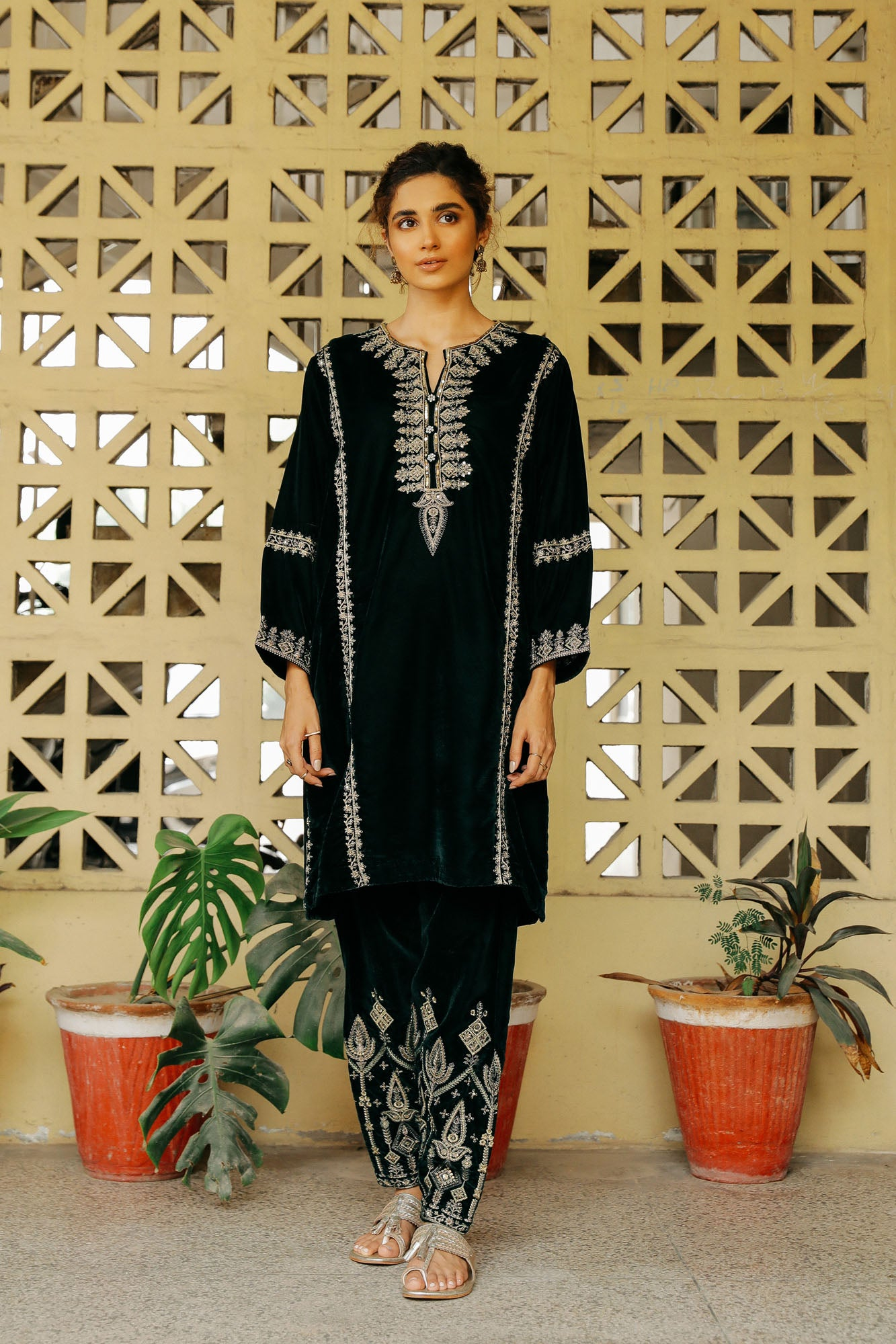 CAPSULE SUIT (WTP401668) - Ethnic by Outfitters