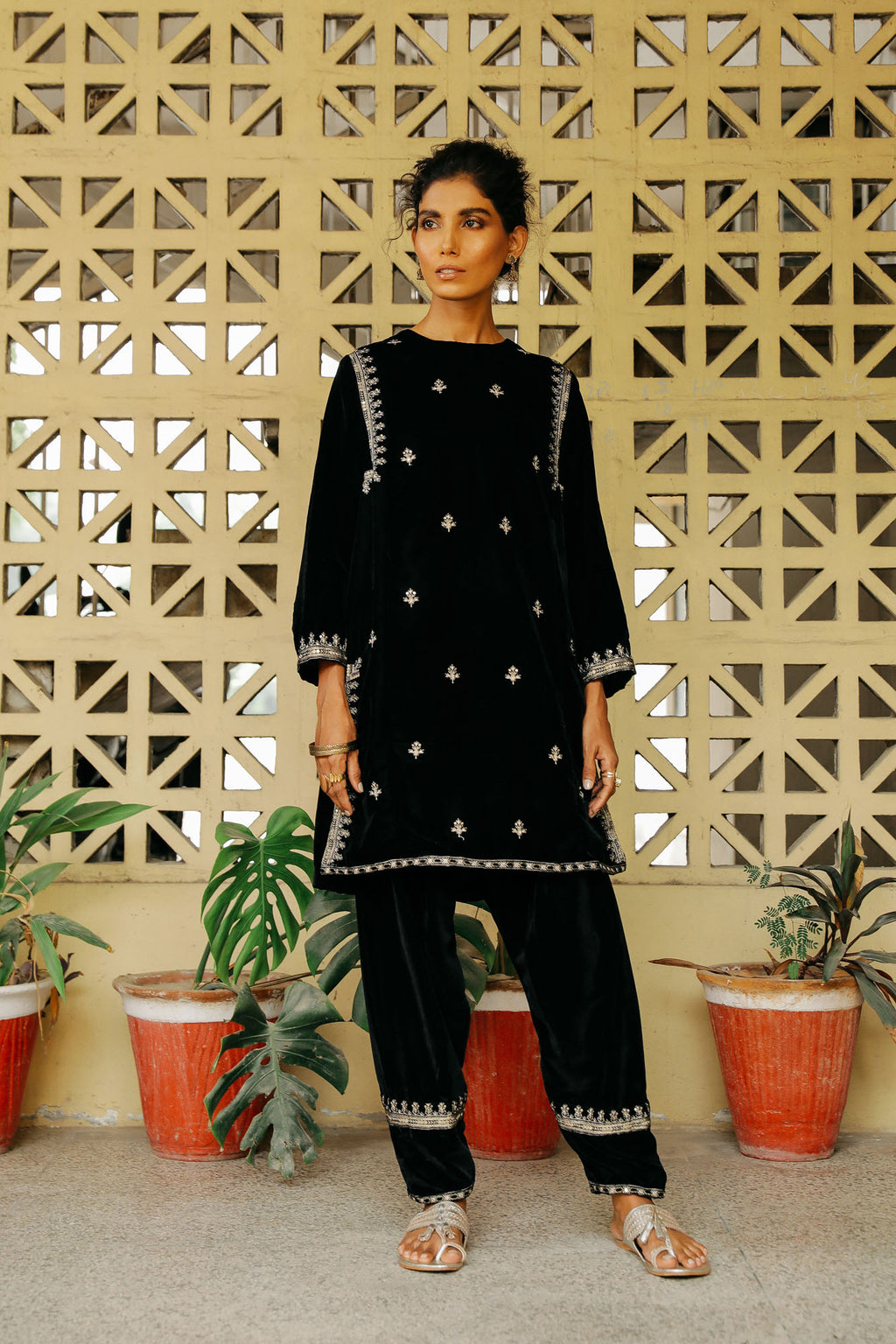 CAPSULE SUIT (WTP401670) - Ethnic by Outfitters