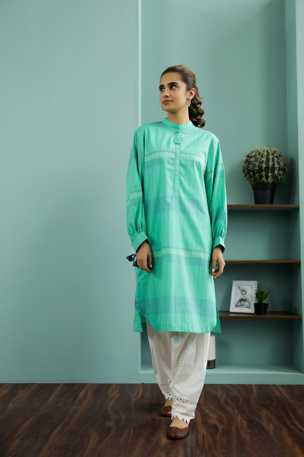 Rozana Shirt (WTR101404) - Ethnic by Outfitters