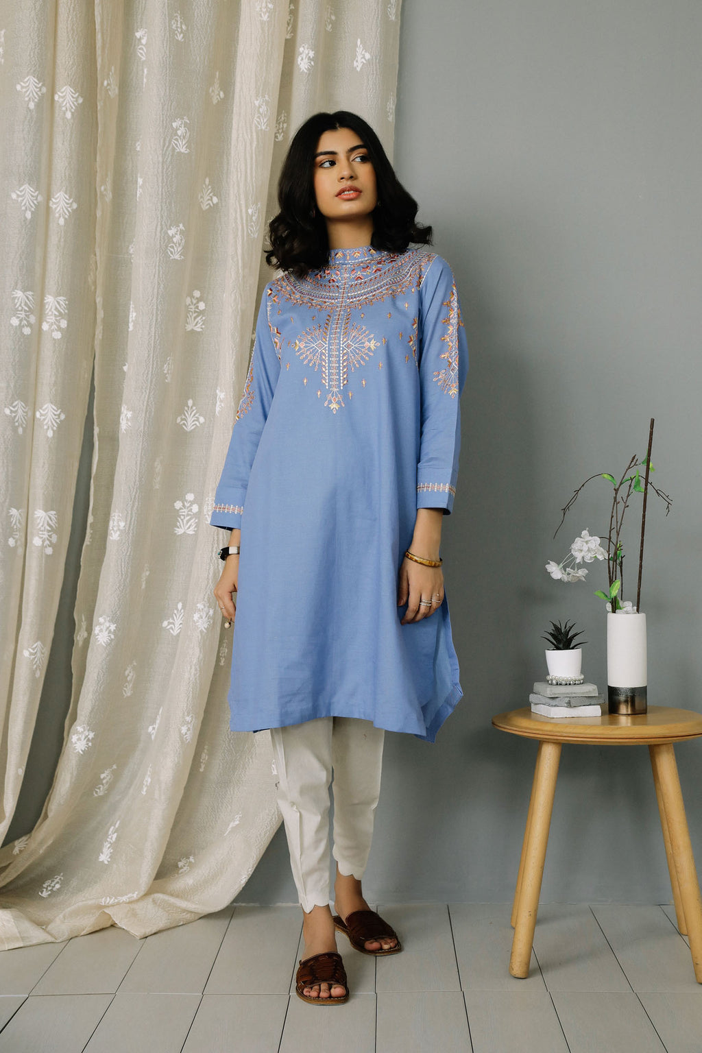 Rozana Shirt (WTR101411) - Ethnic by Outfitters