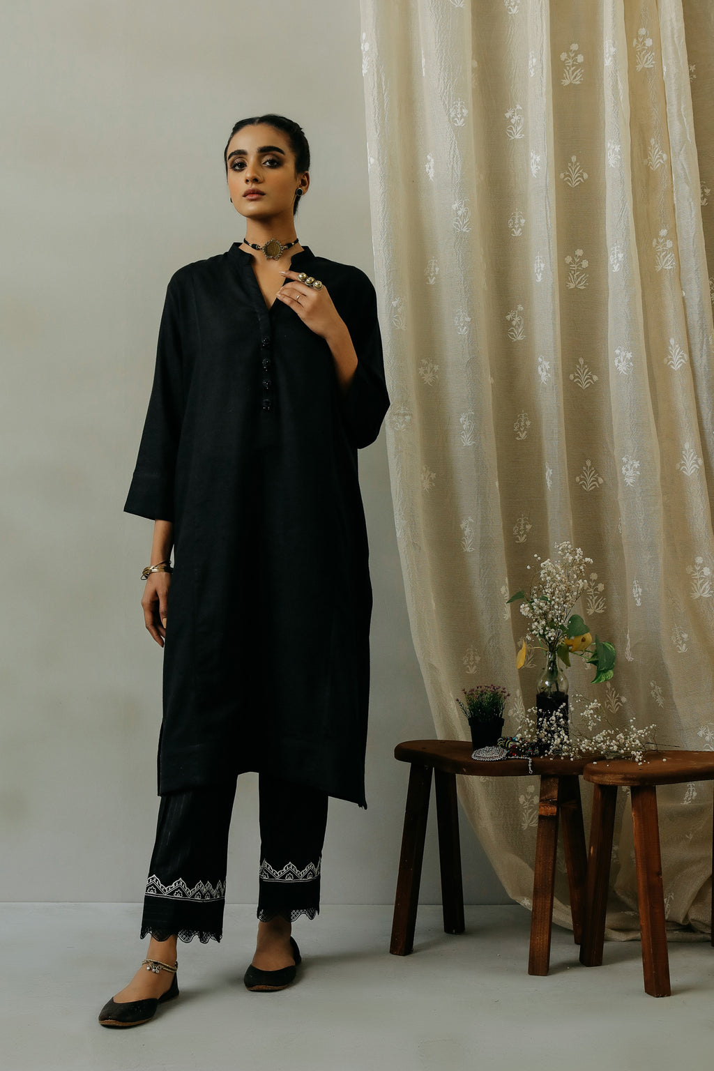 ROZANA SHIRT (WTR111300) - Ethnic by Outfitters