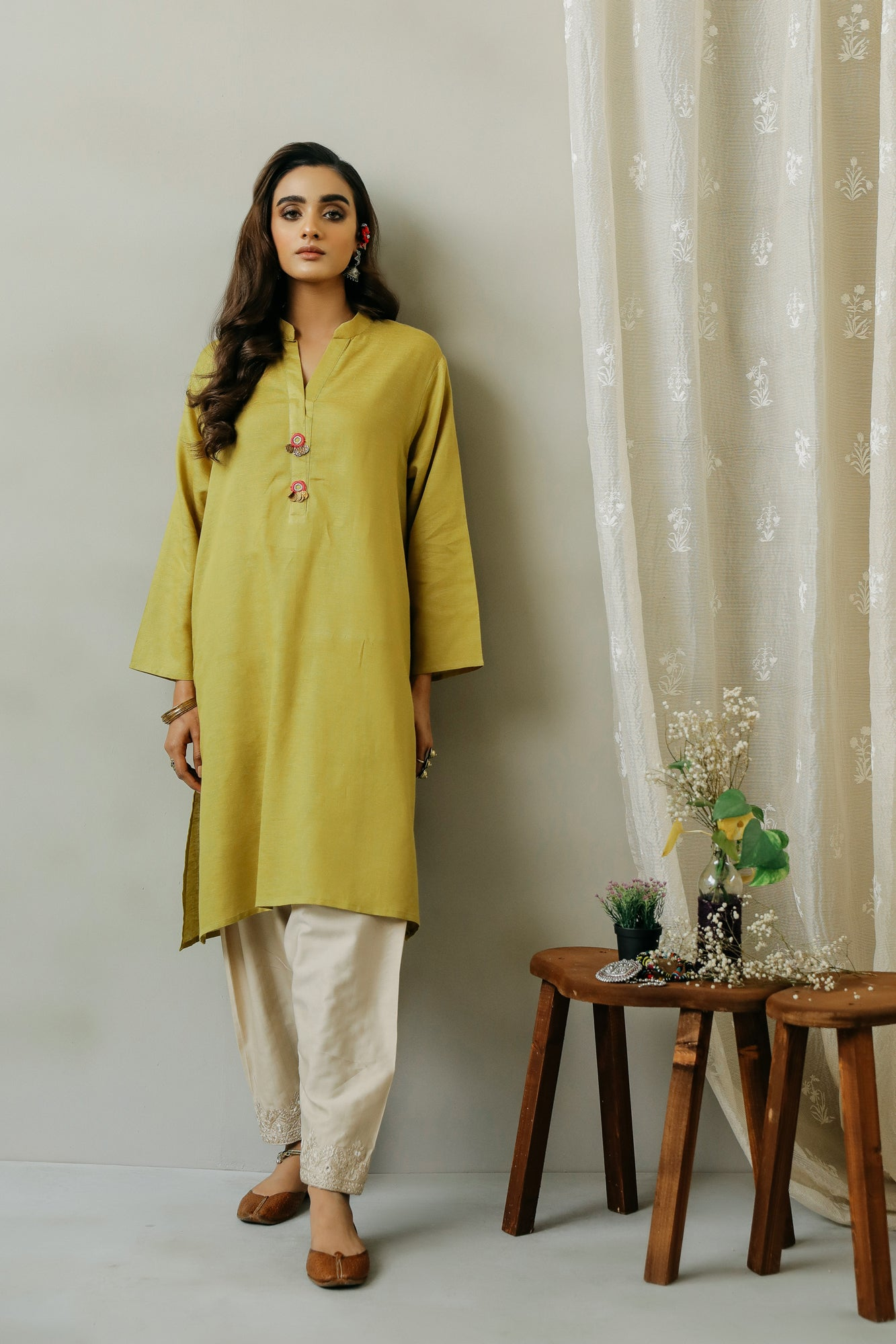 ROZANA SHIRT (WTR111302) - Ethnic by Outfitters
