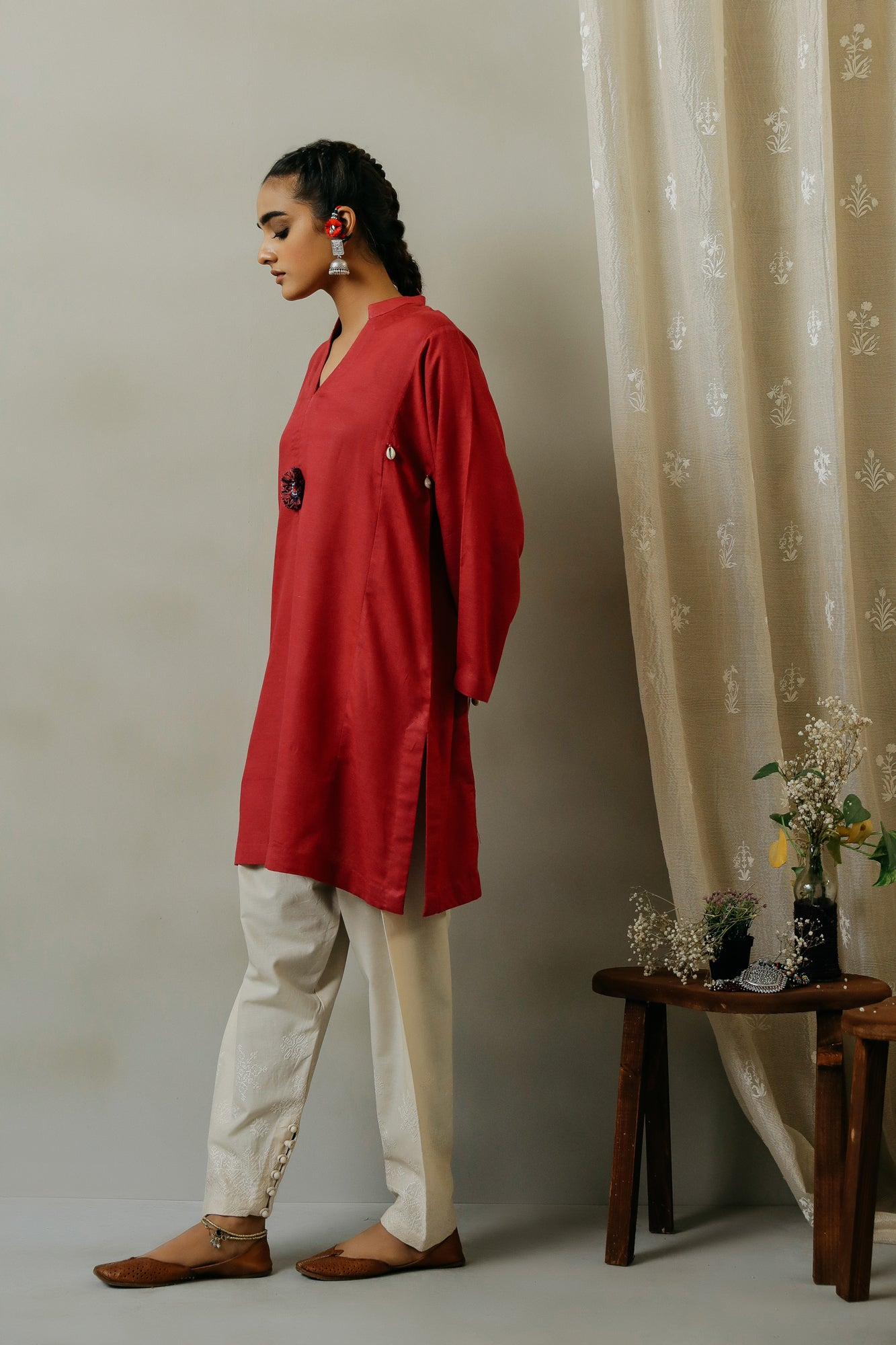 ROZANA SHIRT (WTR111303) - Ethnic by Outfitters