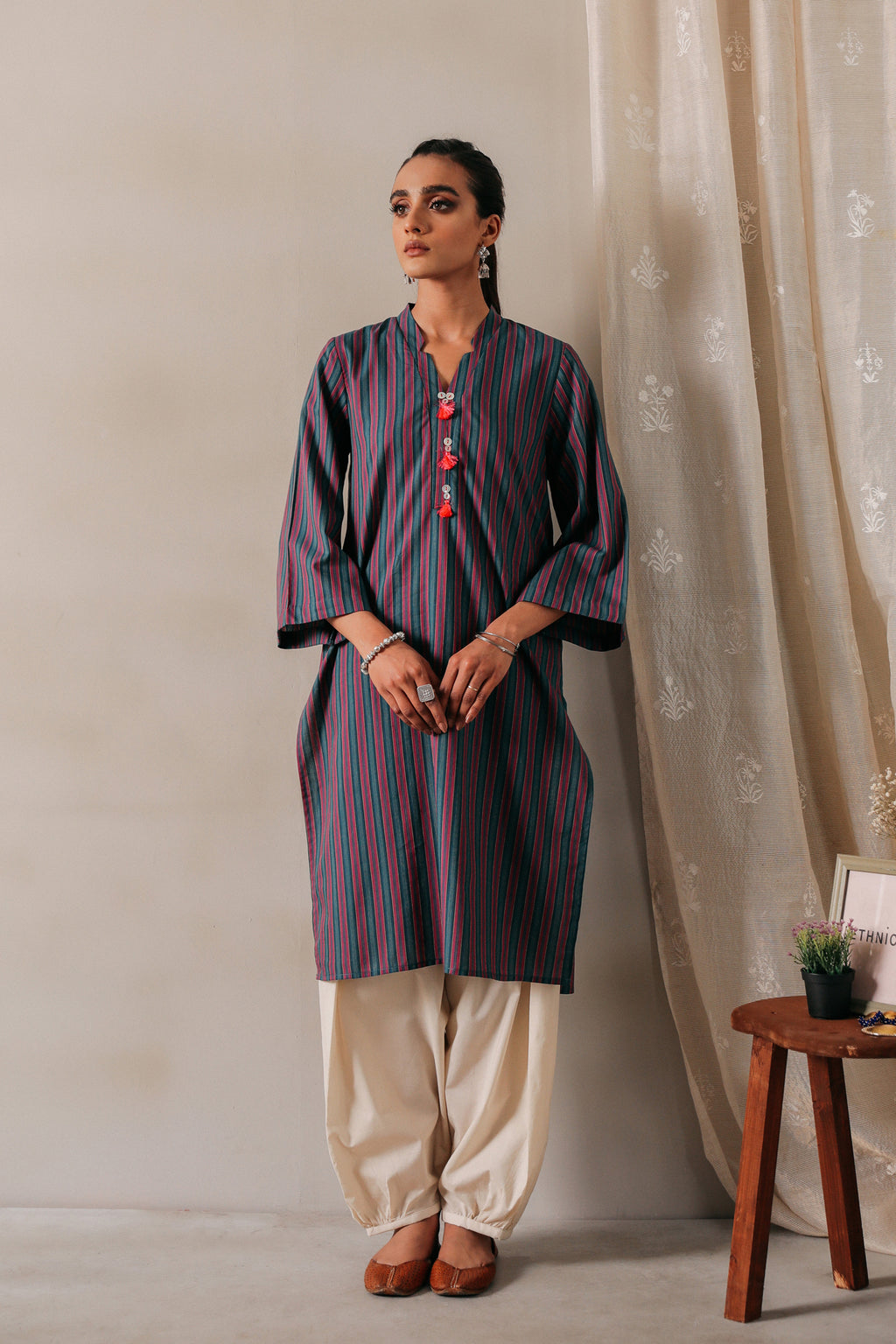 SOLID SHIRT (WTR111305) - Ethnic by Outfitters
