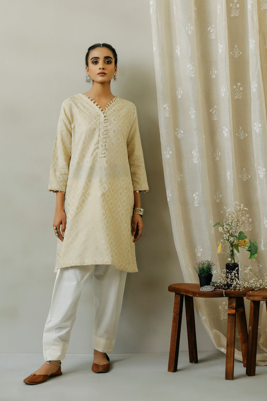 ROZANA SHIRT (WTR111334) - Ethnic by Outfitters