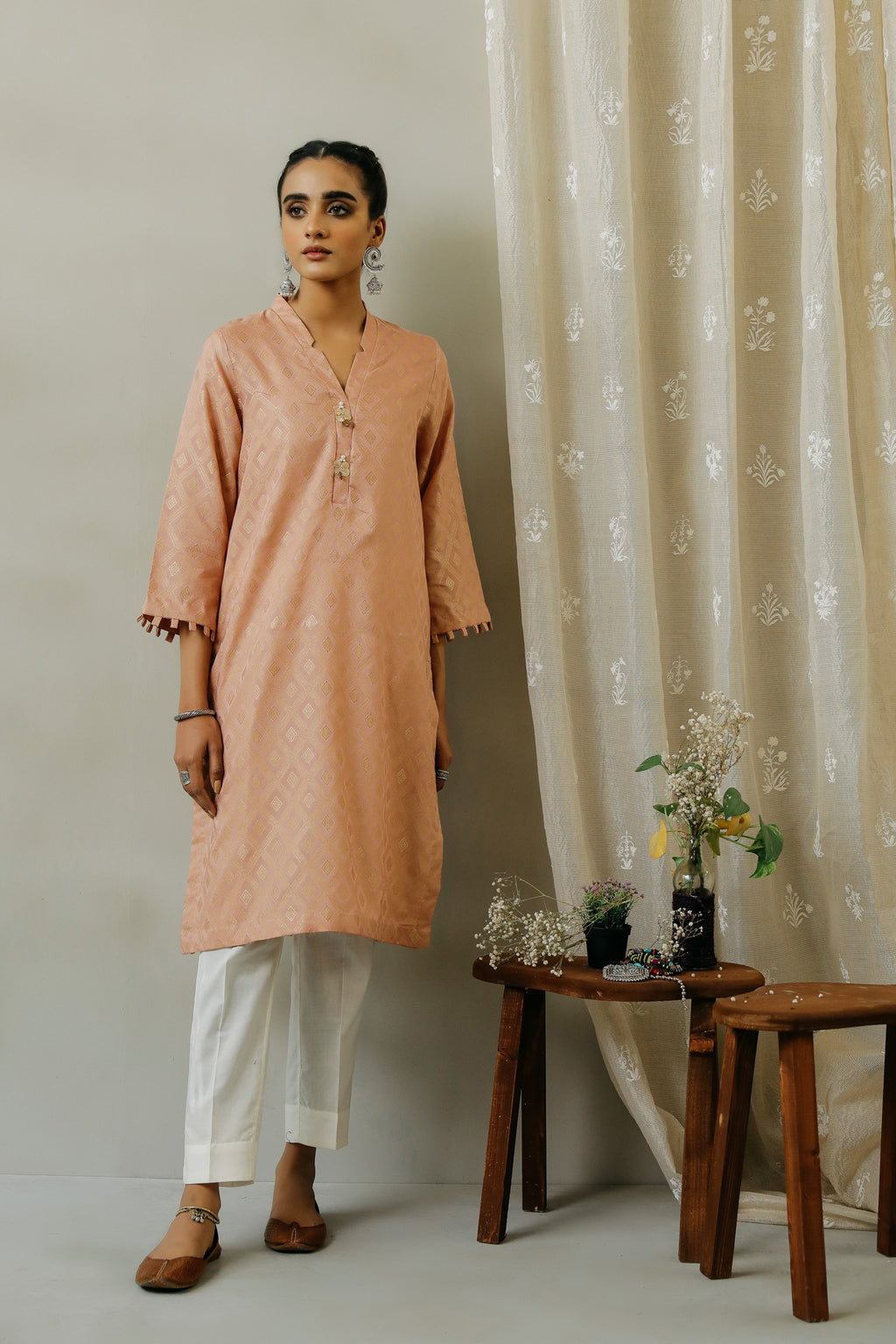ROZANA SHIRT (WTR111336) - Ethnic by Outfitters