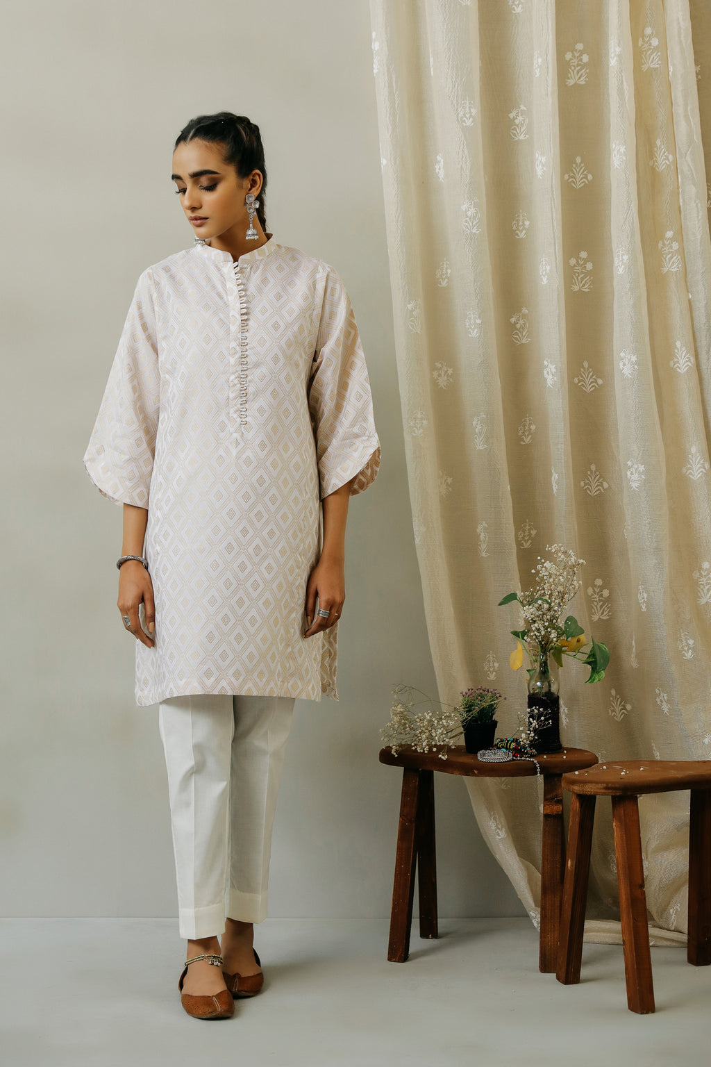 ROZANA SHIRT (WTR111337) - Ethnic by Outfitters