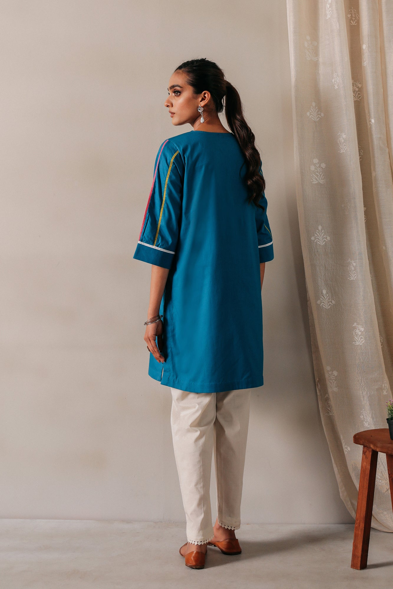SOLID SHIRT (WTR111342) - Ethnic by Outfitters