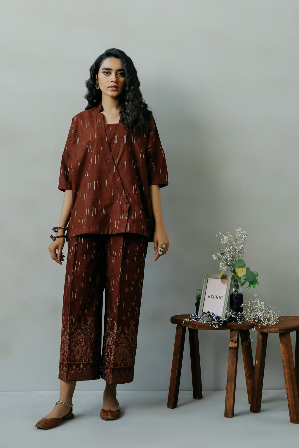 ROZANA SUIT (WTR111350) - Ethnic by Outfitters