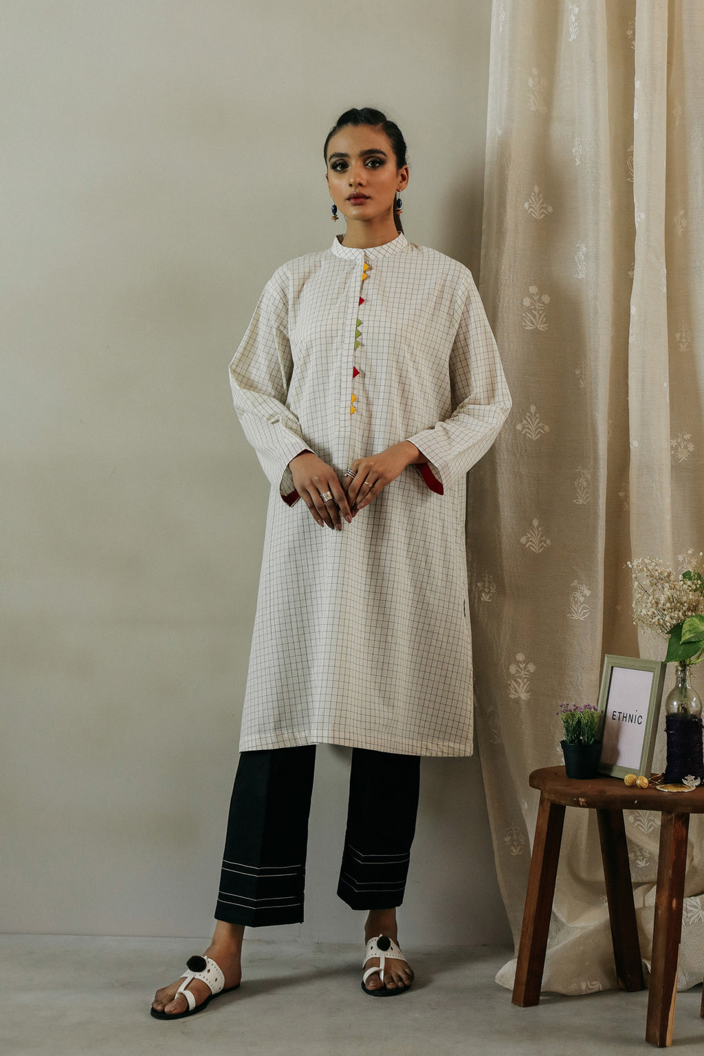 ROZANA SHIRT (WTR111306) - Ethnic by Outfitters