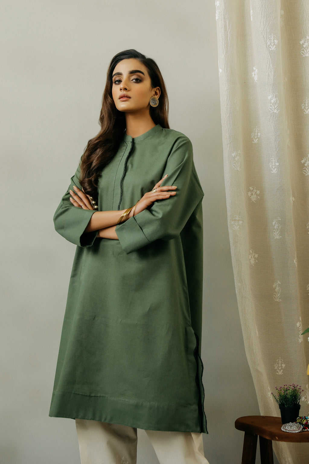 ROZANA SHIRT (WTF111619) - Ethnic by Outfitters