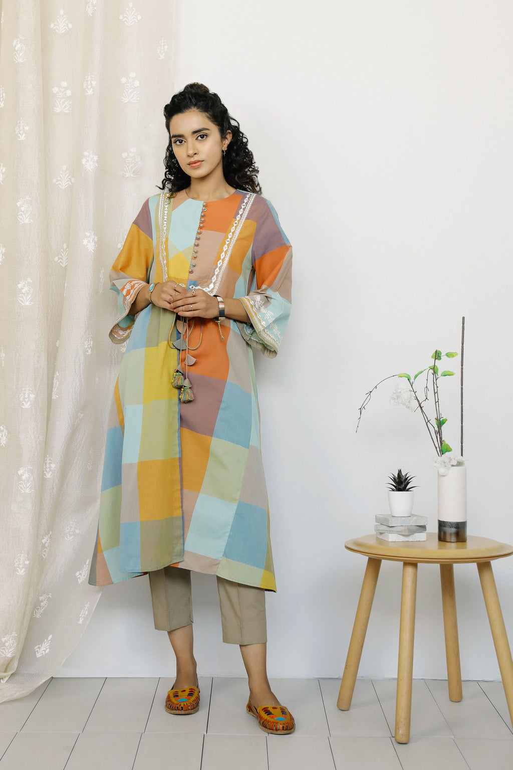 Rozana Suit (WTR201085) - Ethnic by Outfitters