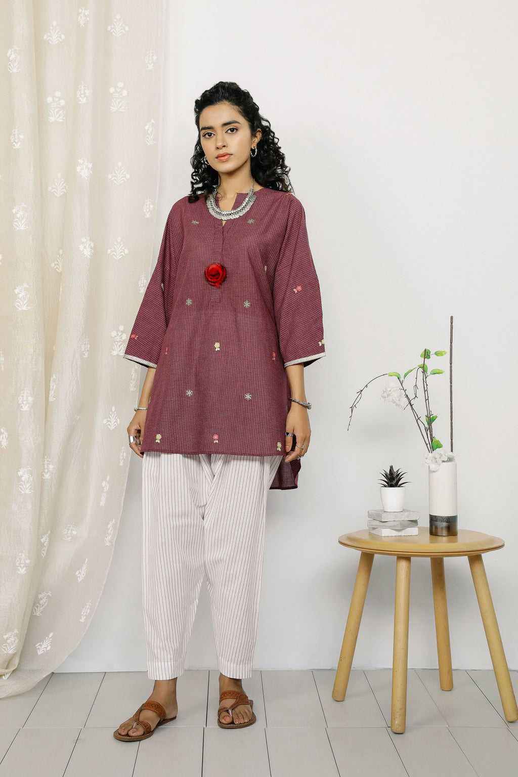 Rozana Suit (WTR201087) - Ethnic by Outfitters