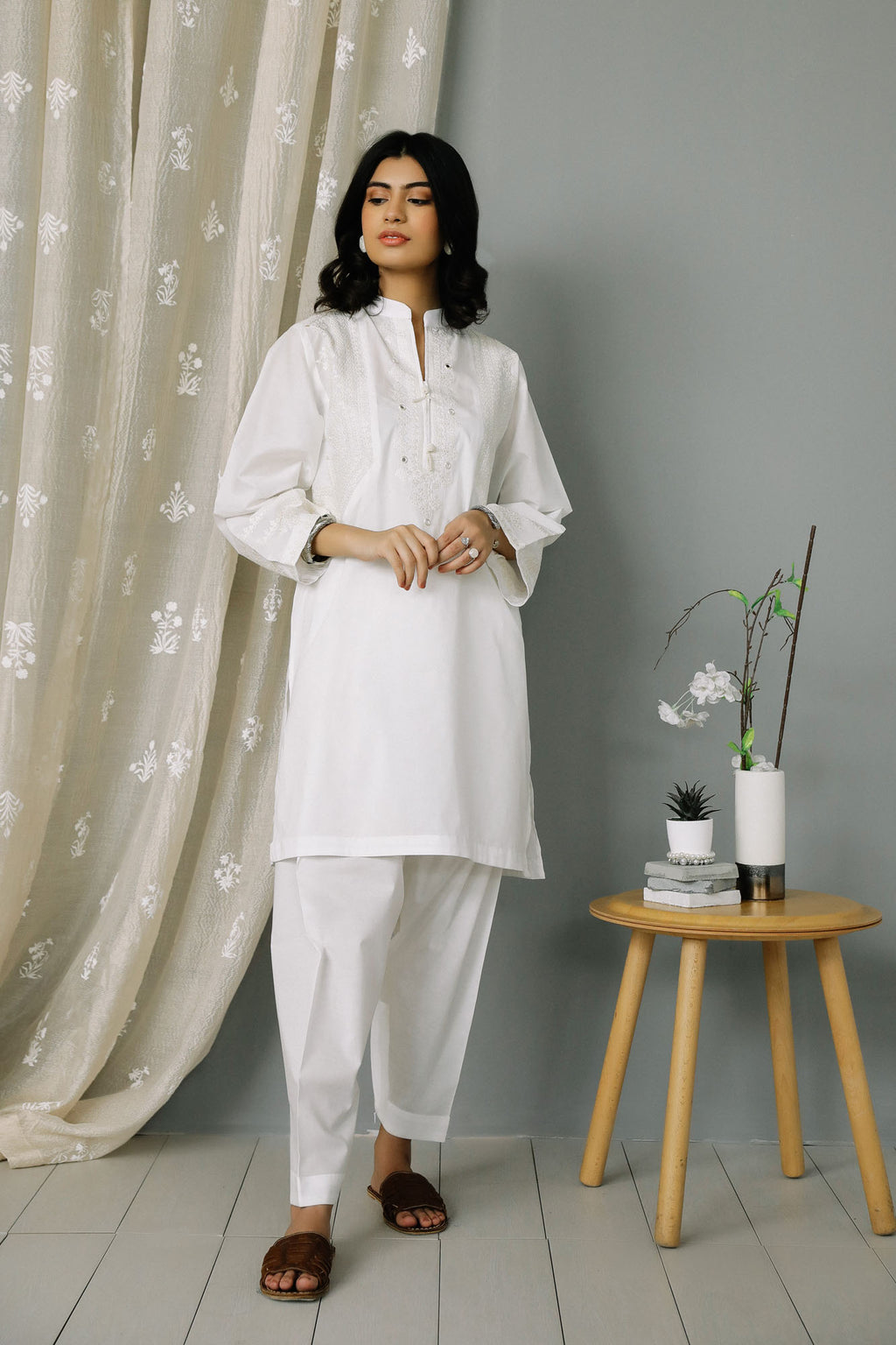 Rozana Suit (WTR201090) - Ethnic by Outfitters