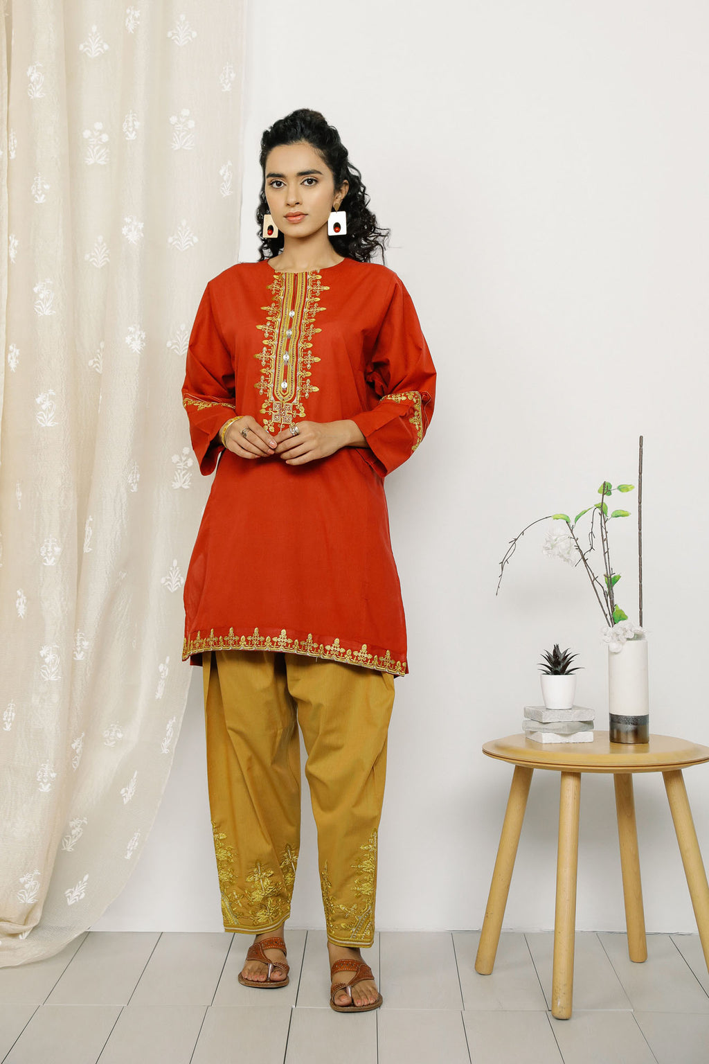 Rozana Suit (WTR201094) - Ethnic by Outfitters