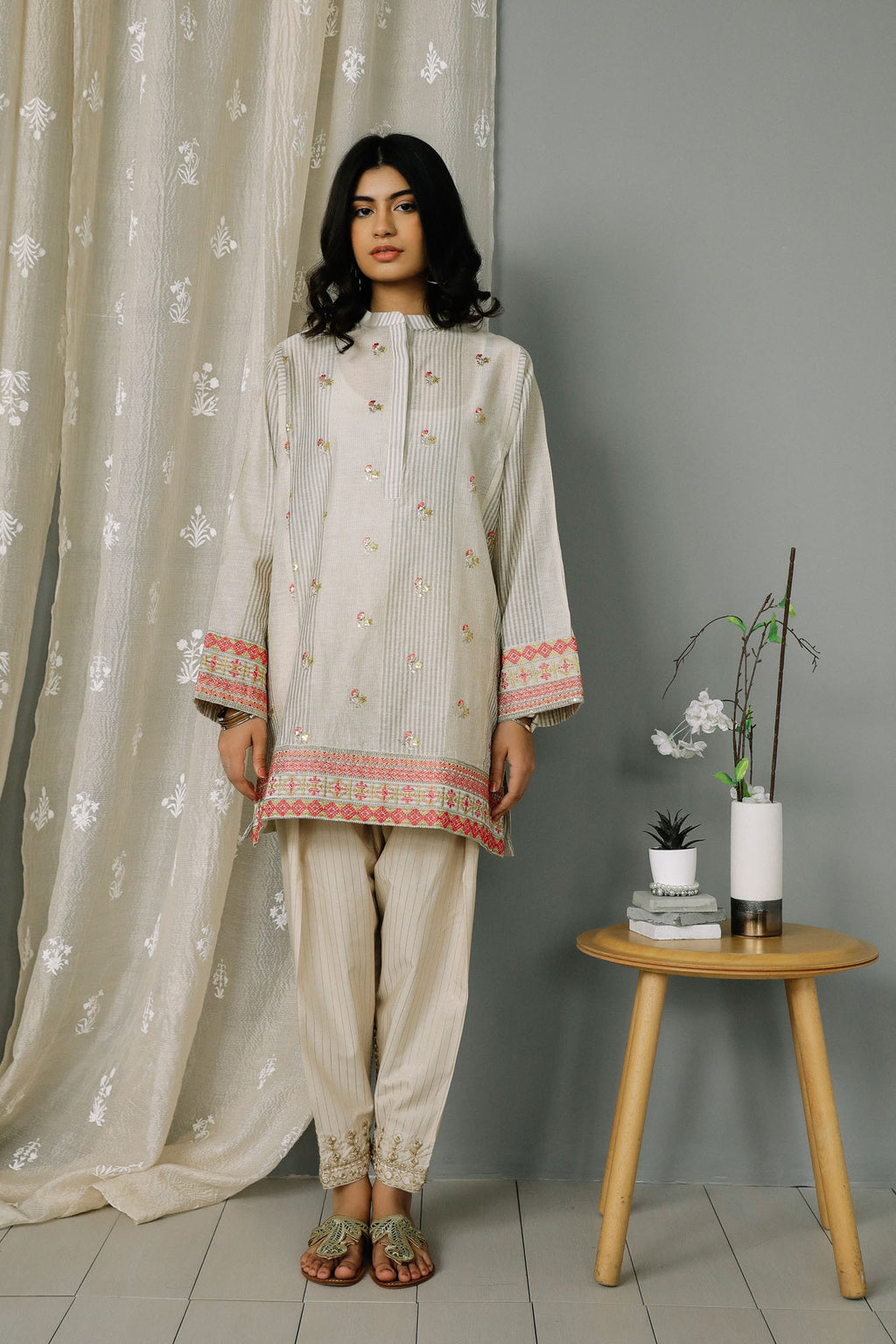 Rozana Shirt (WTR201309) - Ethnic by Outfitters