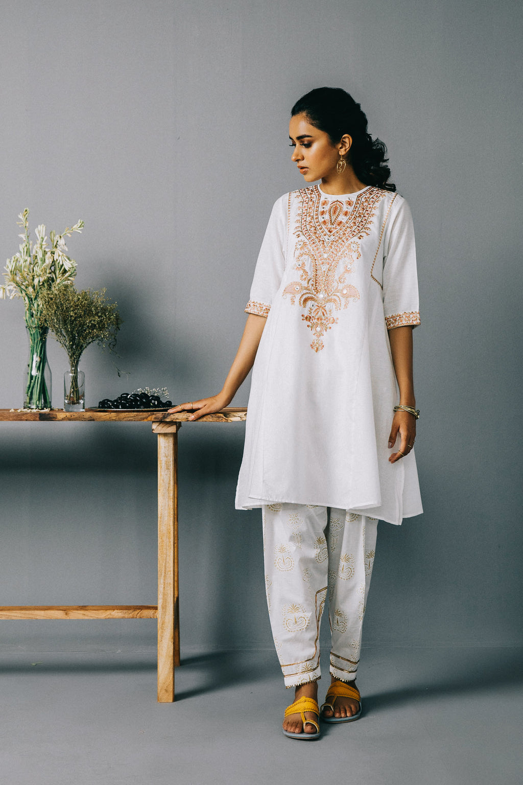 Rozana Shirt (WTR201313) - Ethnic by Outfitters