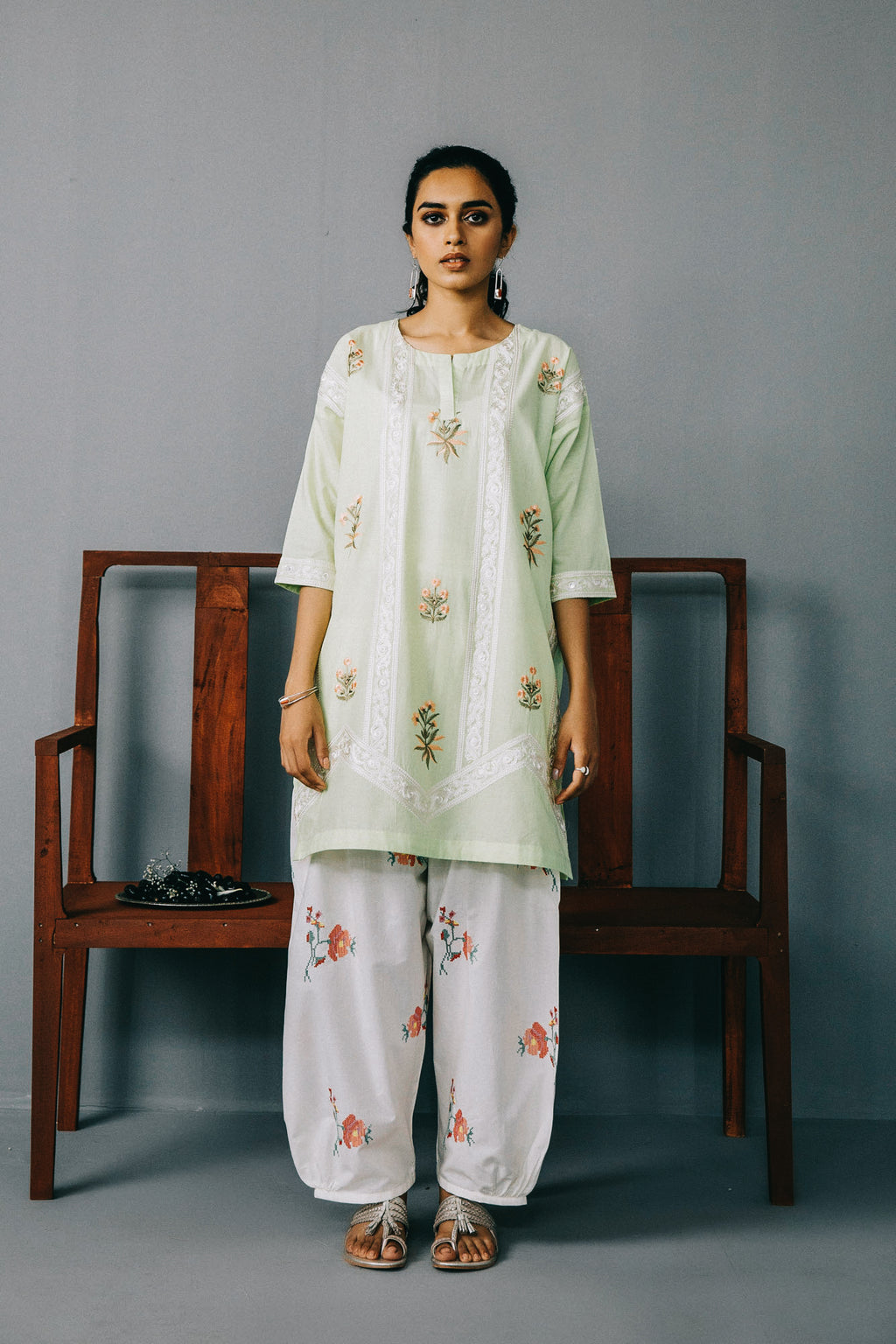 Rozana Shirt (WTR201405) - Ethnic by Outfitters