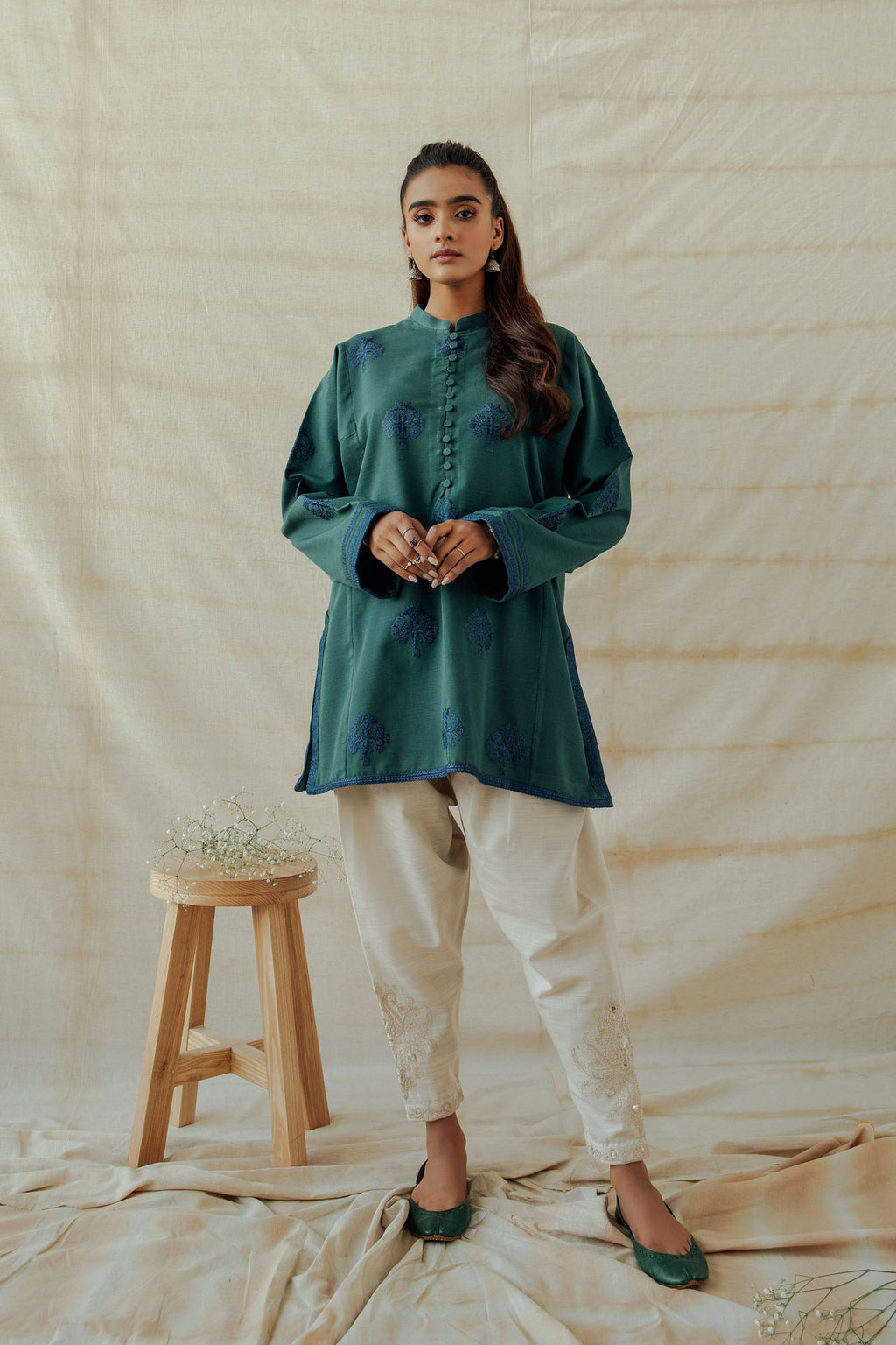 ROZANA SHIRT (WTR401304) - Ethnic by Outfitters