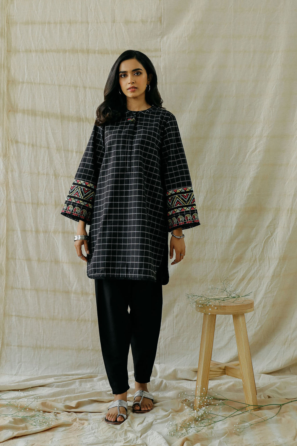 ROZANA SHIRT (WTR401305) - Ethnic by Outfitters