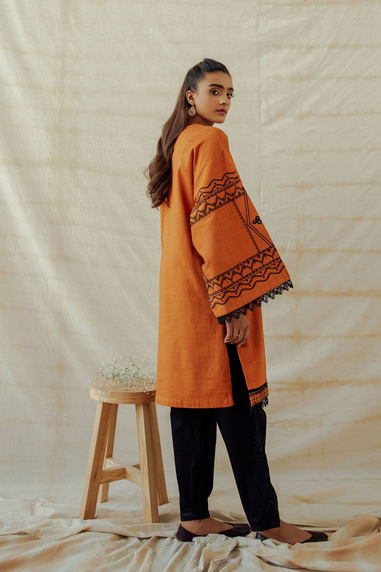 ROZANA SHIRT (WTR401308) - Ethnic by Outfitters