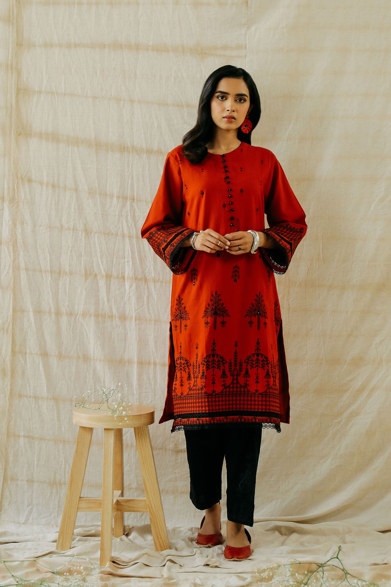 ROZANA SHIRT (WTR401312) - Ethnic by Outfitters