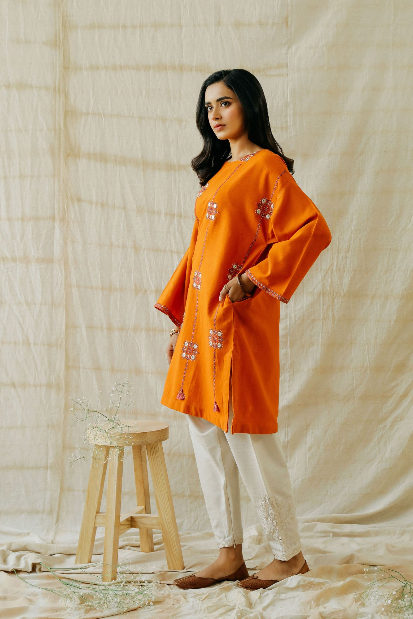 ROZANA SHIRT (WTR401315) - Ethnic by Outfitters
