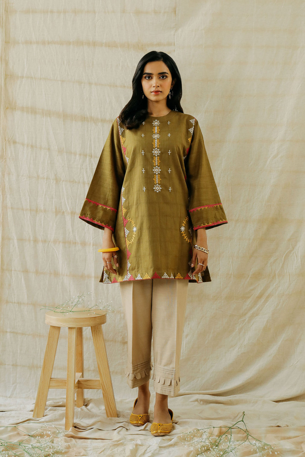 ROZANA SHIRT (WTR401317) - Ethnic by Outfitters