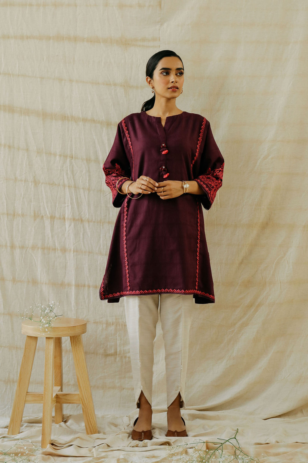 ROZANA SHIRT (WTR401319) - Ethnic by Outfitters