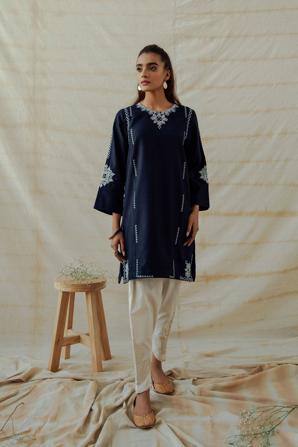 ROZANA SHIRT (WTR401322) - Ethnic by Outfitters