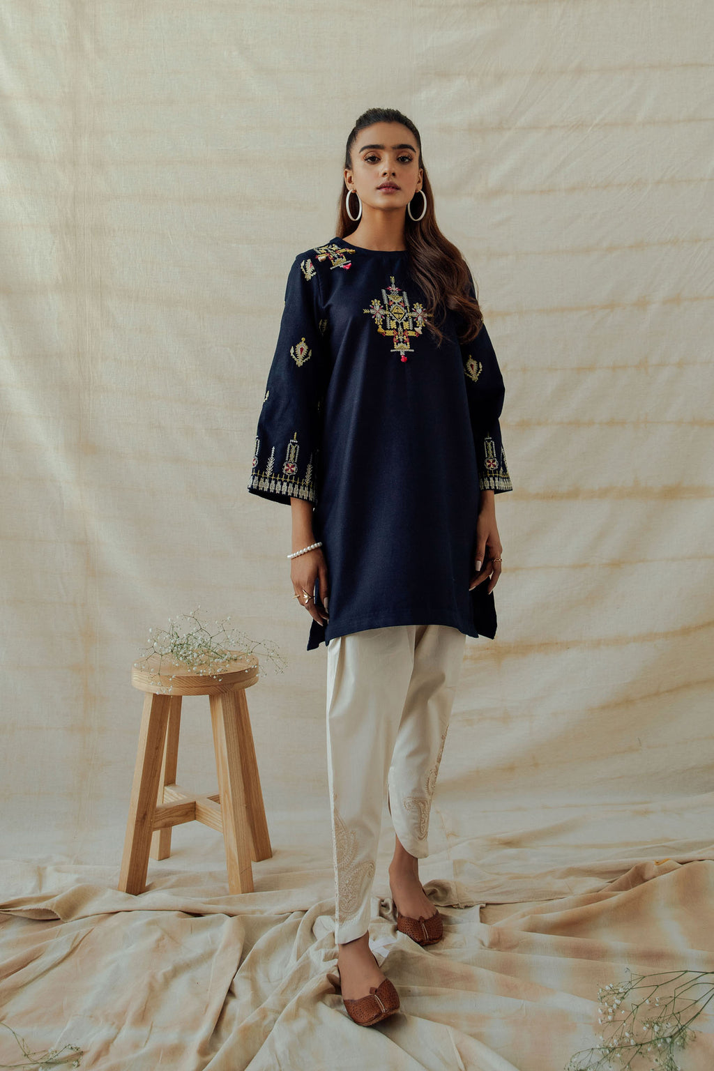 ROZANA SHIRT (WTR401323) - Ethnic by Outfitters