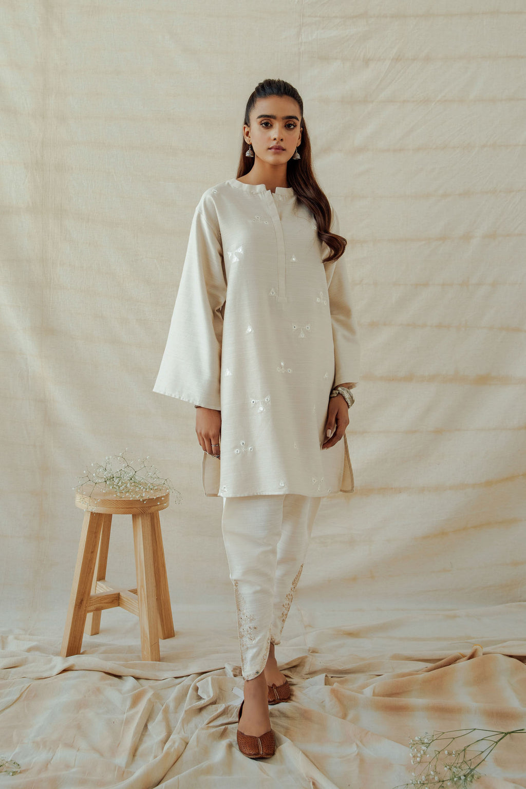 ROZANA SHIRT (WTR401330) - Ethnic by Outfitters