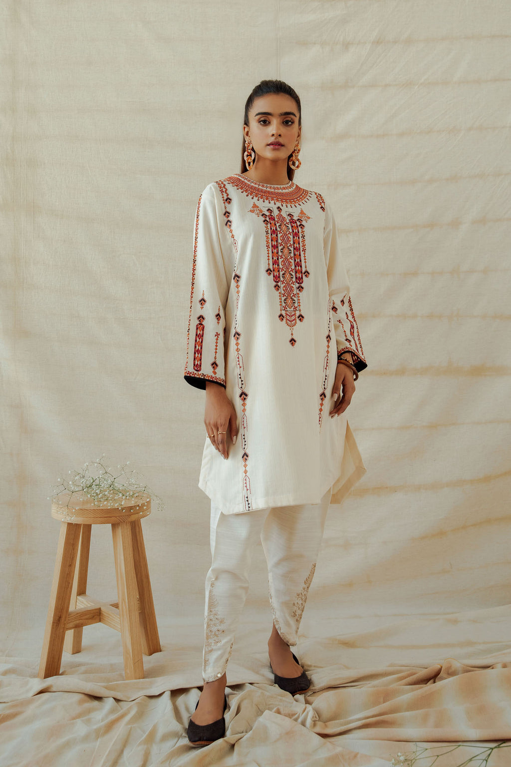 ROZANA SHIRT (WTR401333) - Ethnic by Outfitters