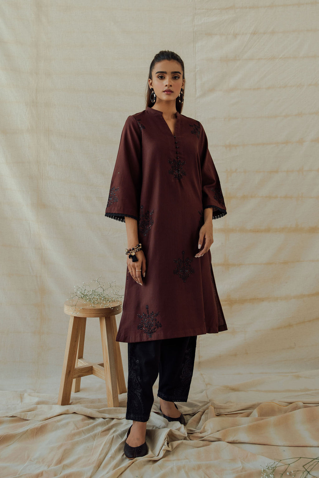 ROZANA SHIRT (WTR401334) - Ethnic by Outfitters