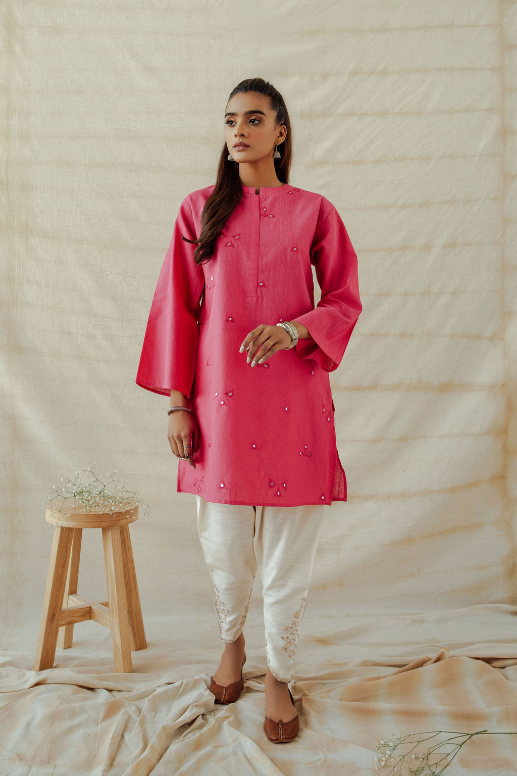 ROZANA SHIRT (WTR401337) - Ethnic by Outfitters